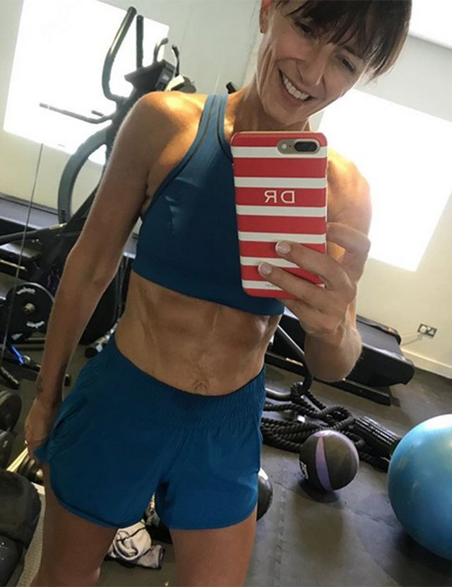 Davina McCall admits 'I'd NEVER wear shorts until now!'