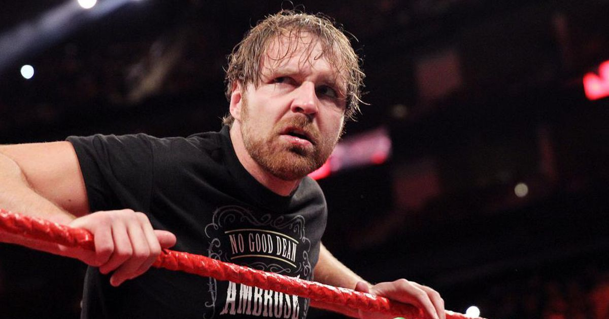 Why WWE star Dean Ambrose wasn't at the Royal Rumble