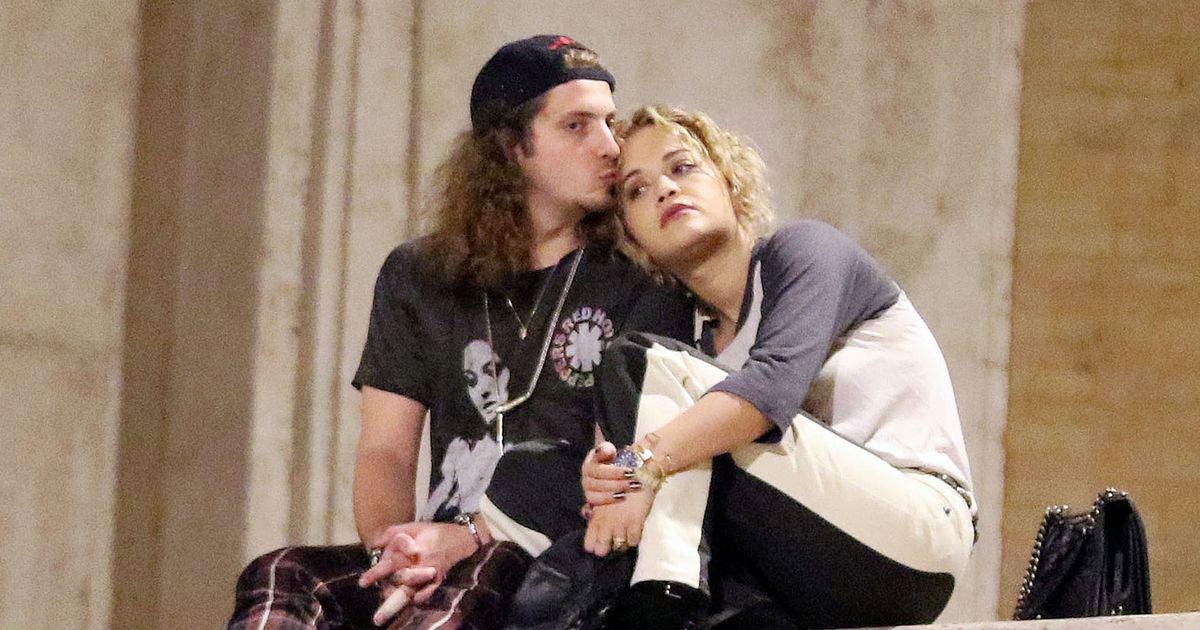 Rita Ora has gushed about her romance with rocker Andrew Watt