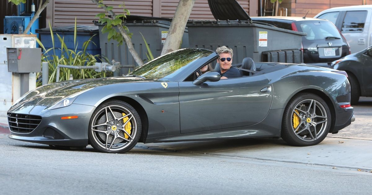 Gordon Ramsay admits using cling film on car number plate to dodge speed cams
