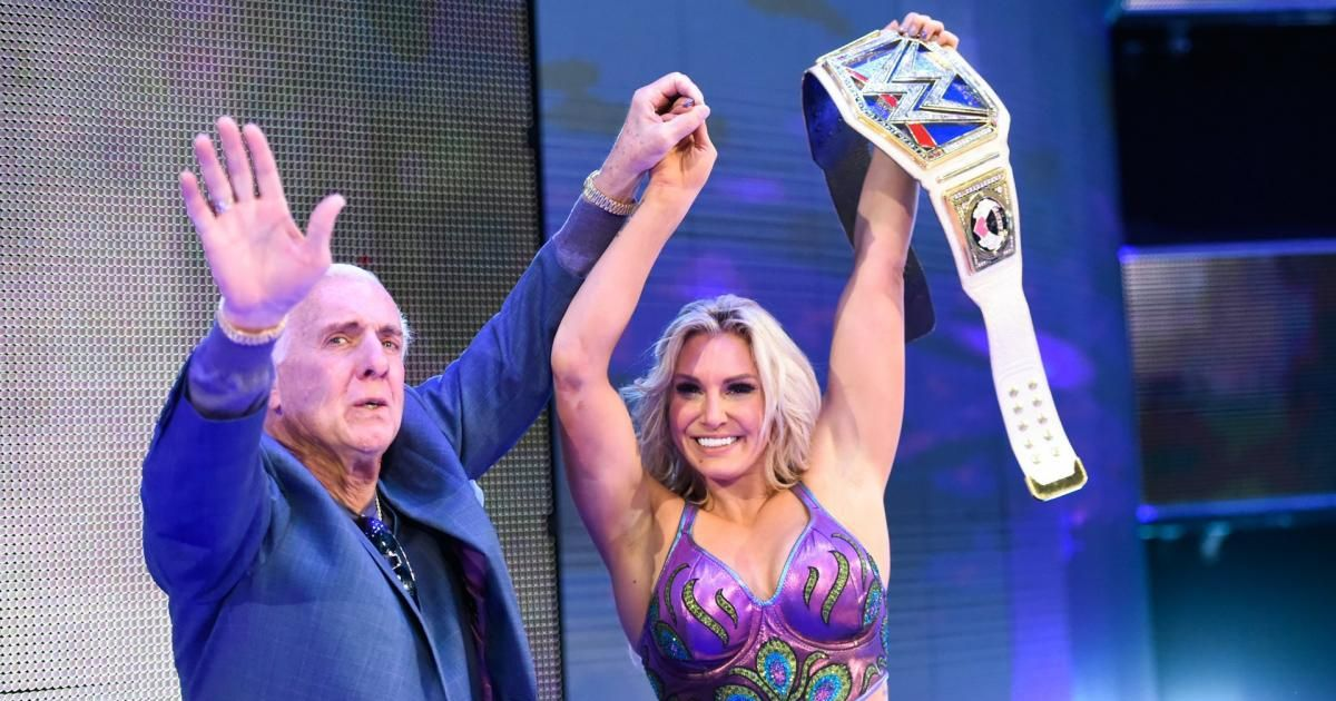 """WWE's Ric Flair: Ronda Rousey """"better watch out"""" against my daughter Charlotte"""