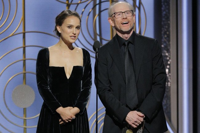 Let's Talk About Natalie Portman's 'All-Male Nominees' Comment at Last Night's Golden Globes