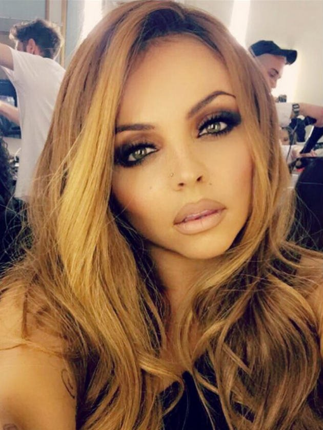 e8ec3b36c1954 Little Mix's Jesy Nelson strips off to reveal new tattoo in intimate snap