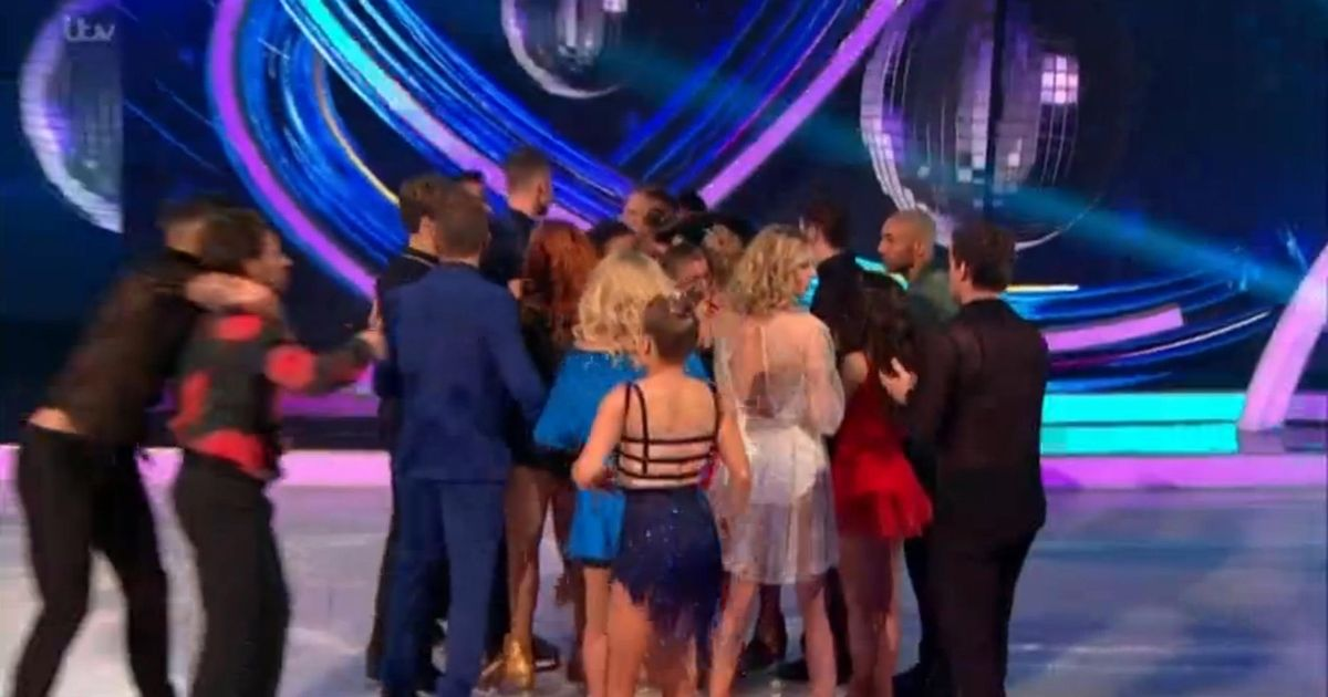 Dancing on Ice fans furious as judges save star who fell over during final skate