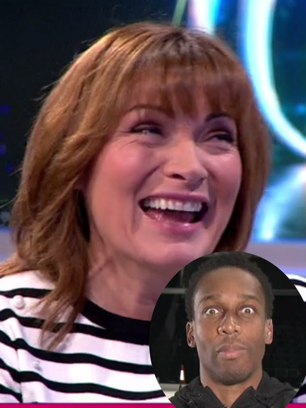 Lorraine Kelly shocks viewers with VERY cheeky 'groin' comment to Lemar