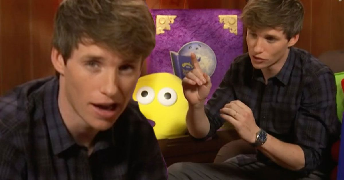 Eddie Redmayne returns to Cbeebies Bedtime stories for a second time