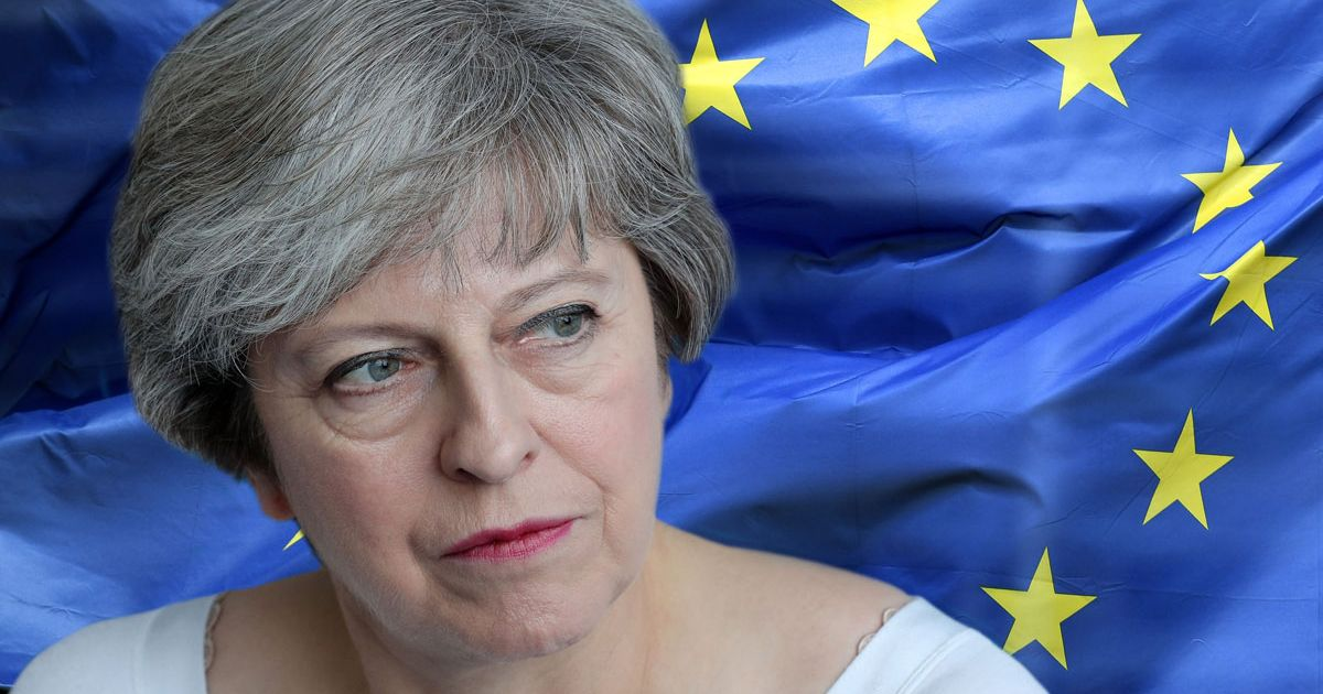 Desperate Theresa May is clinging to her job as she faces a Tory Brexit mutiny