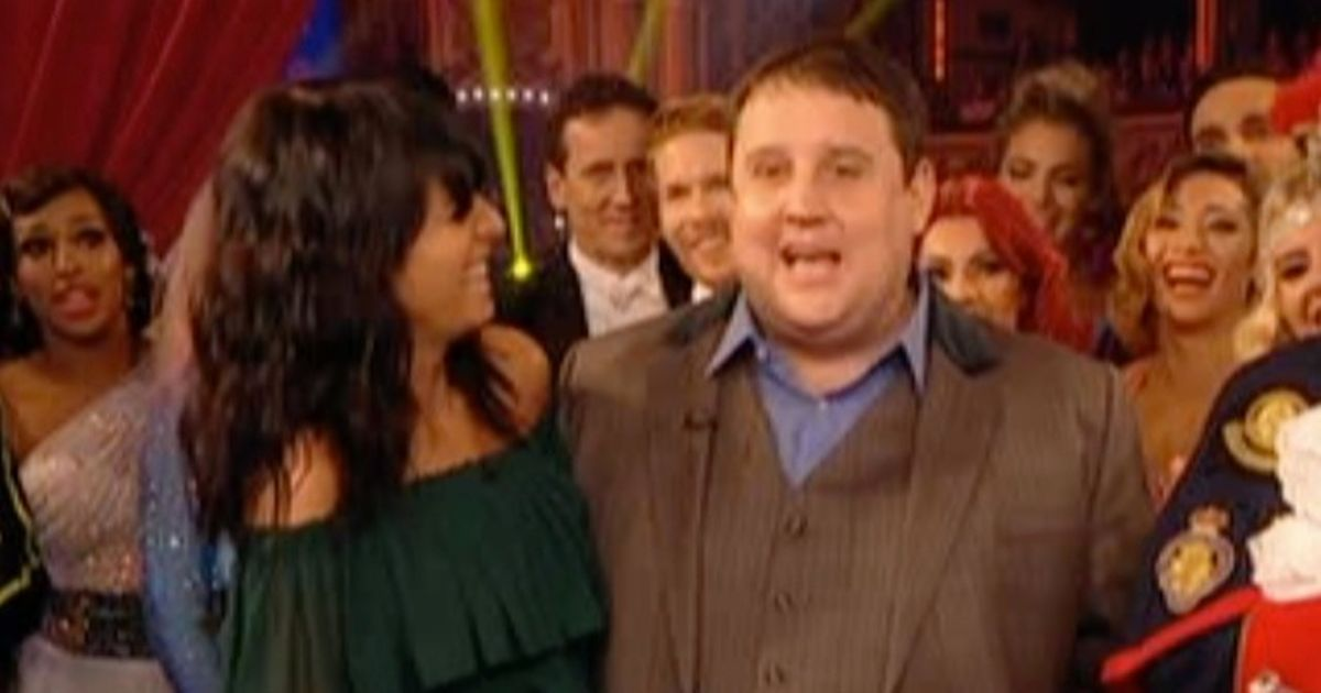 Strictly fans think Peter Kay is drunk but there's good reason he's probably not
