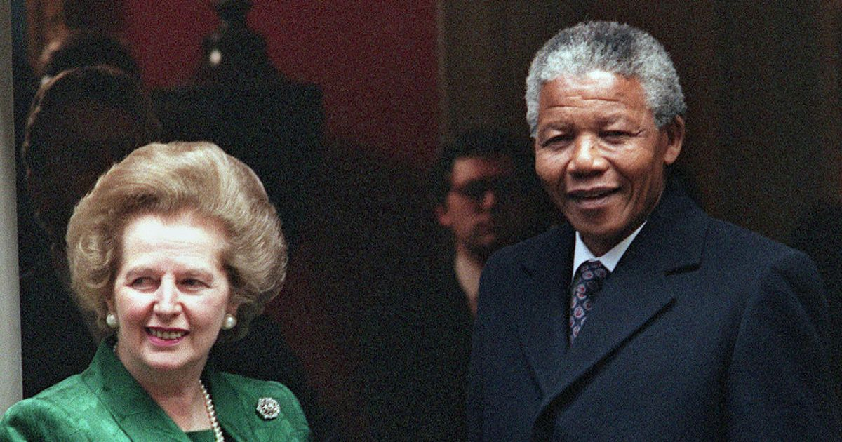 Margaret Thatcher 'wanted whites only South Africa'