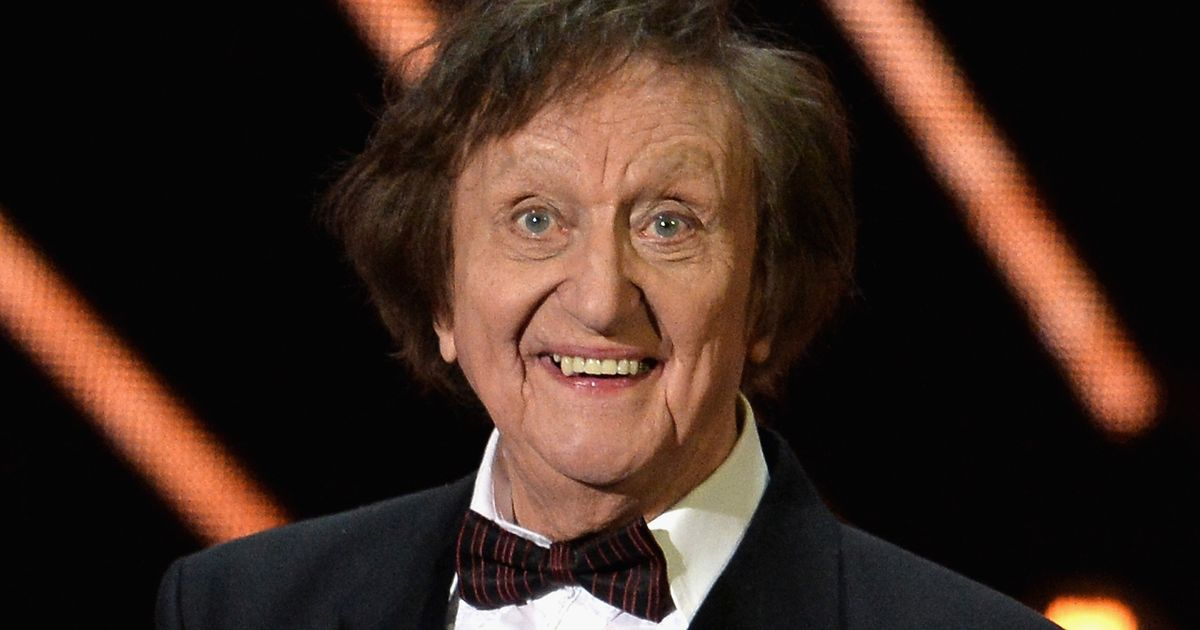 Comedy legend Sir Ken Dodd in hospital with a 'severe' chest infection