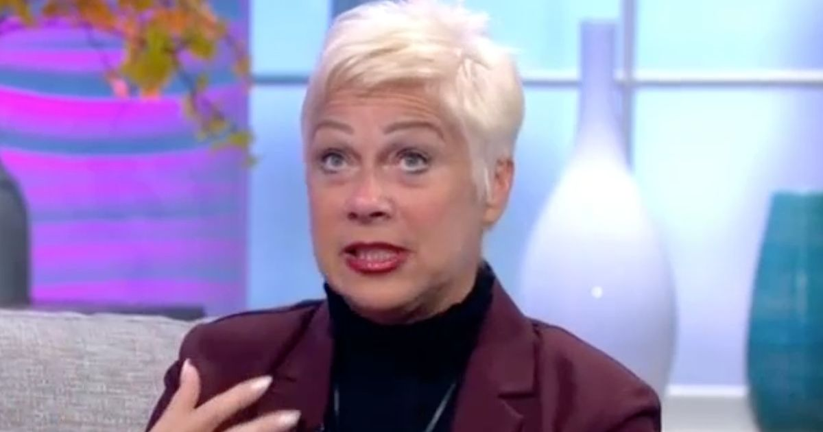 Denise Welch gets emotional as she opens up about 'disastrous' booze-up