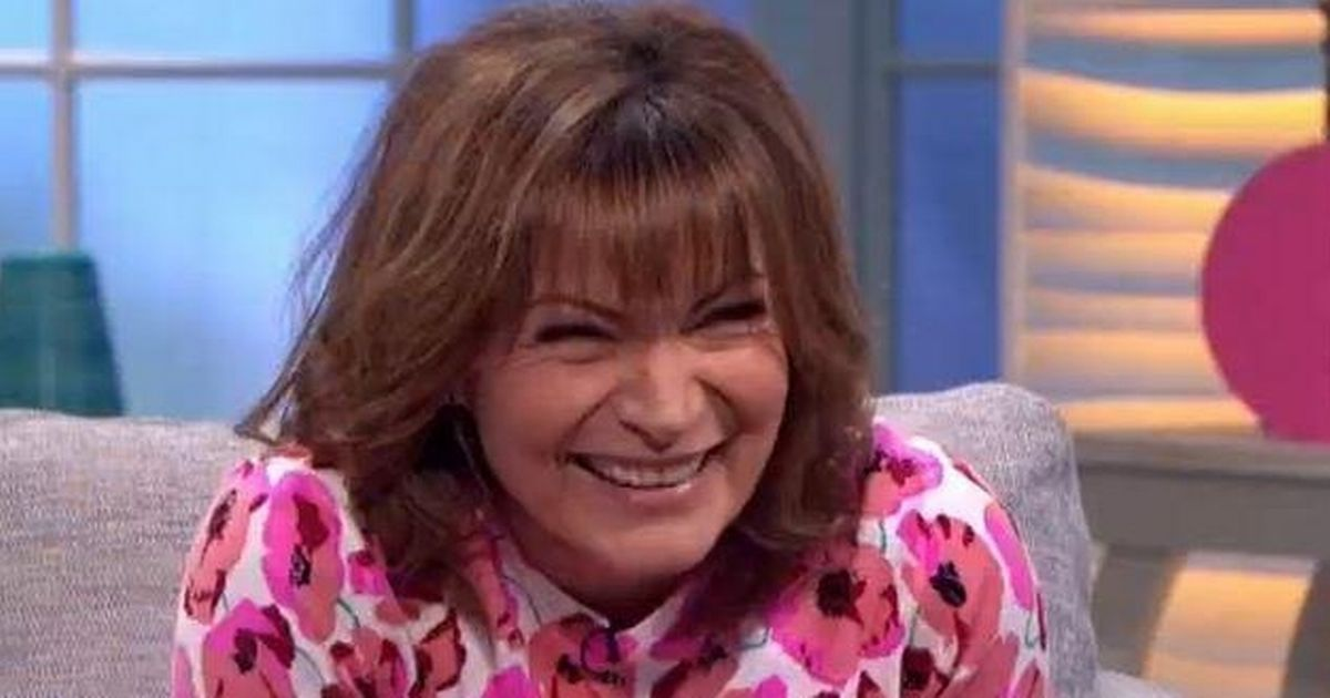 Lorraine Kelly left seriously cringing as her puppy poos live on air