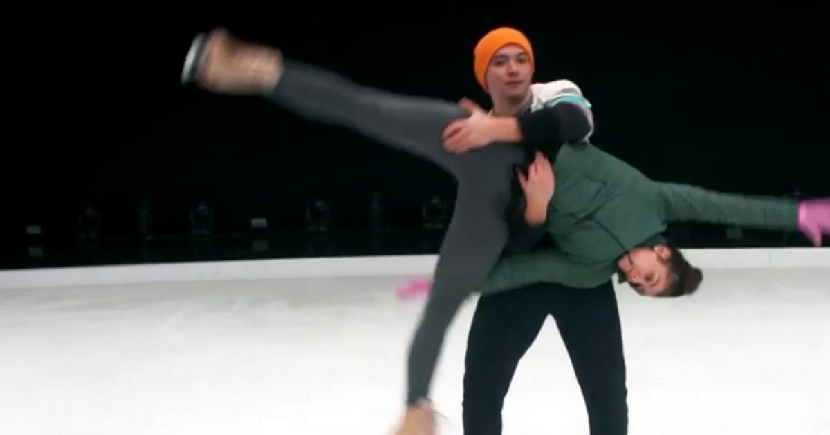 Dancing On Ice stars skate, spin and lift in stunning behind-the-scenes footage