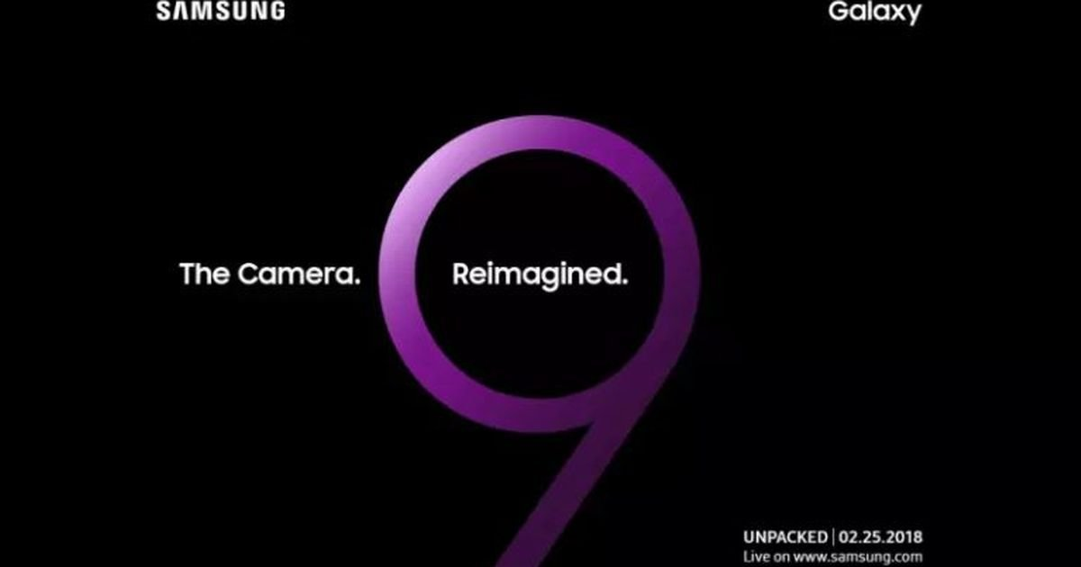 Samsung Galaxy S9 to be revealed on February 25 at special 'Unpacked' event