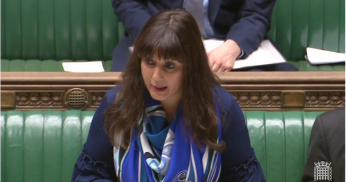 Nusrat Ghani becomes first female Muslim minister to speak at the despatch box