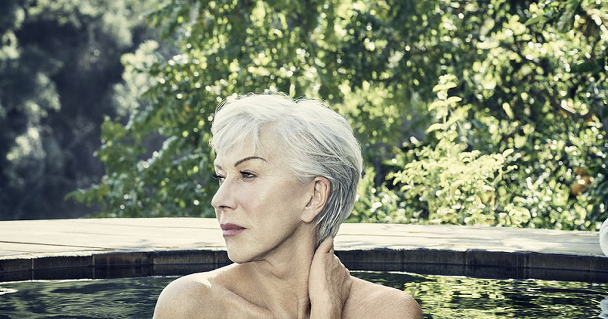Actress Helen Mirren, 72, poses topless in new campaign for Cancer Research