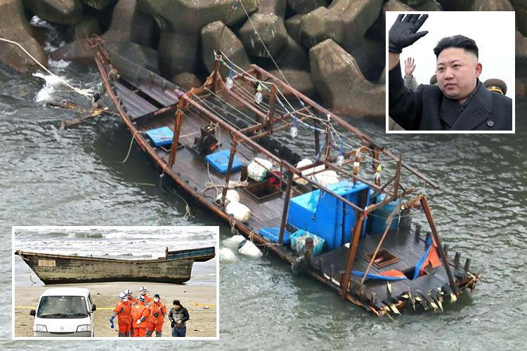 North Korean 'ghost ships' full of dead sailors keep washing up in Japan… and it's considered a sign Kim Jong-un may be losing his grip on power