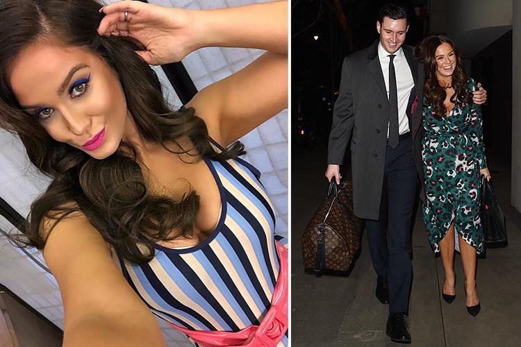 Vicky Pattison is 'so insecure' about her body that she asked fiancé John Noble if he wanted her to get plastic surgery