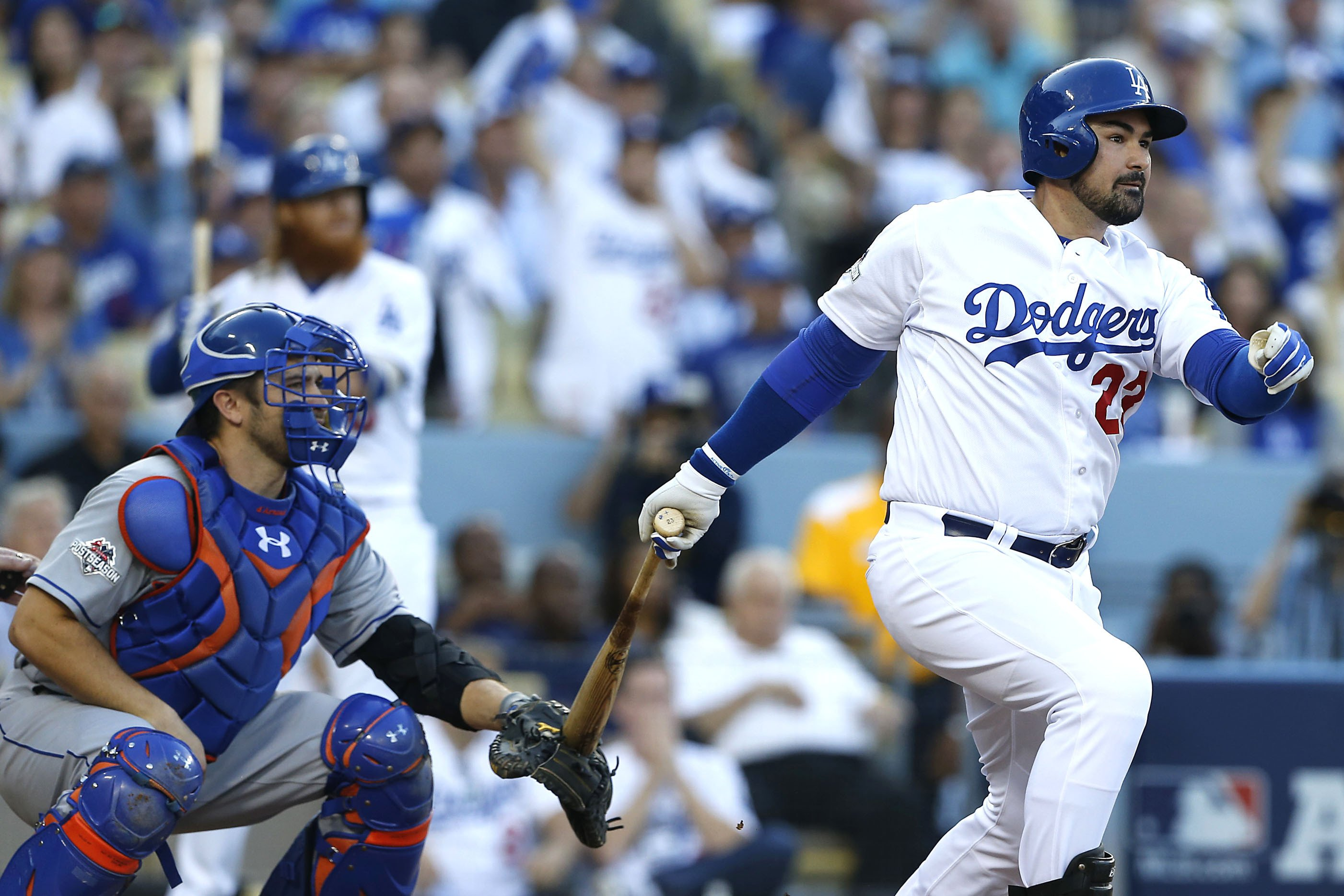 Adrian Gonzalez has inside track to Mets first-base job