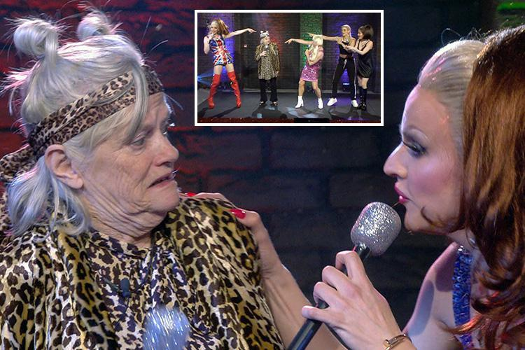Celebrity Big Brother spoilers: Unimpressed Ann Widdecombe dresses up as Mel B for group performance of Spice Girls' Wannabe – The Sun