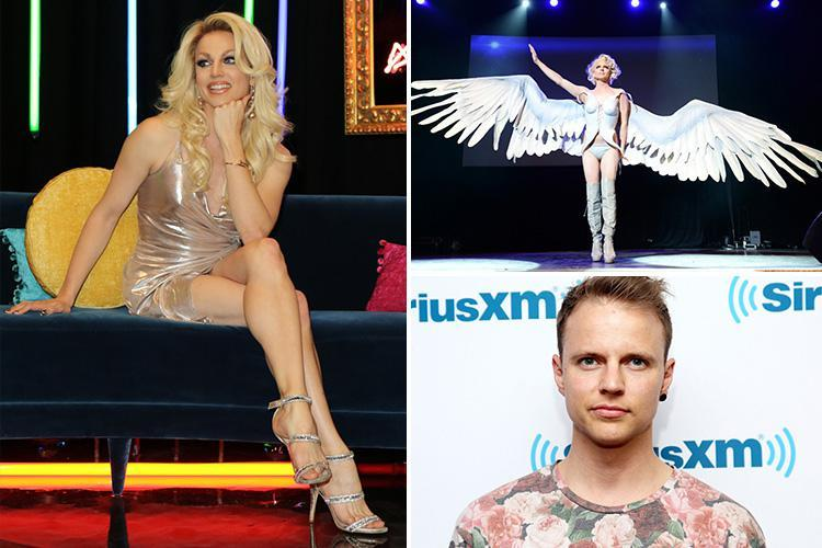 RuPaul's Drag Race star Courtney Act will enter Celebrity Big Brother on Friday with Shane Lynch and John Barnes