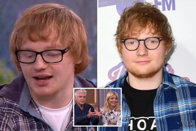 Holly Willoughby and Phillip Schofield bowled over by Ed Sheeran lookalike but This Morning viewers aren't impressed