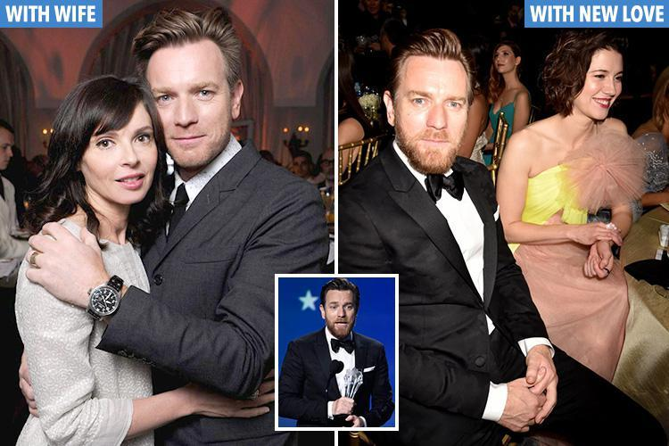 Ewan McGregor's estranged wife breaks silence after he thanked her AND new love during Golden Globes speech