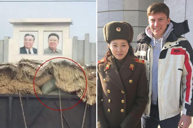 Brit 'spy kid' faced death or hard labour over vid of 'sanction-busting secret train' in North Korea – but minder missed phone footage