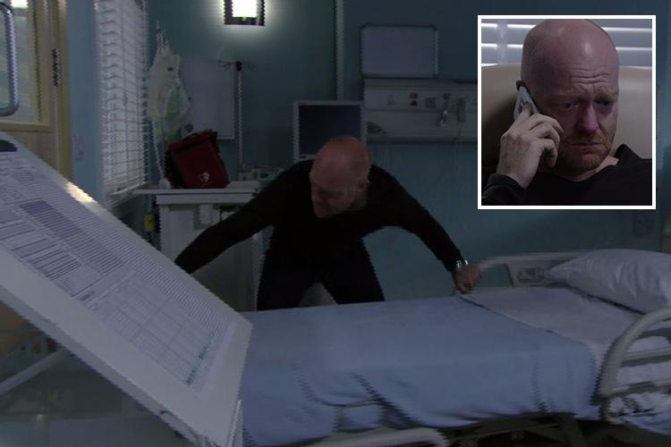 EastEnders viewers mock Max Branning after he barricades himself into brain dead daughter Abi's hospital room