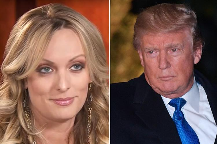 Donald Trump's alleged porn star lover Stormy Daniels refuses to deny she slept with US president