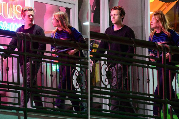 Harry Styles and girlfriend Camilla Rowe make rare public appearance as they go for dinner in LA