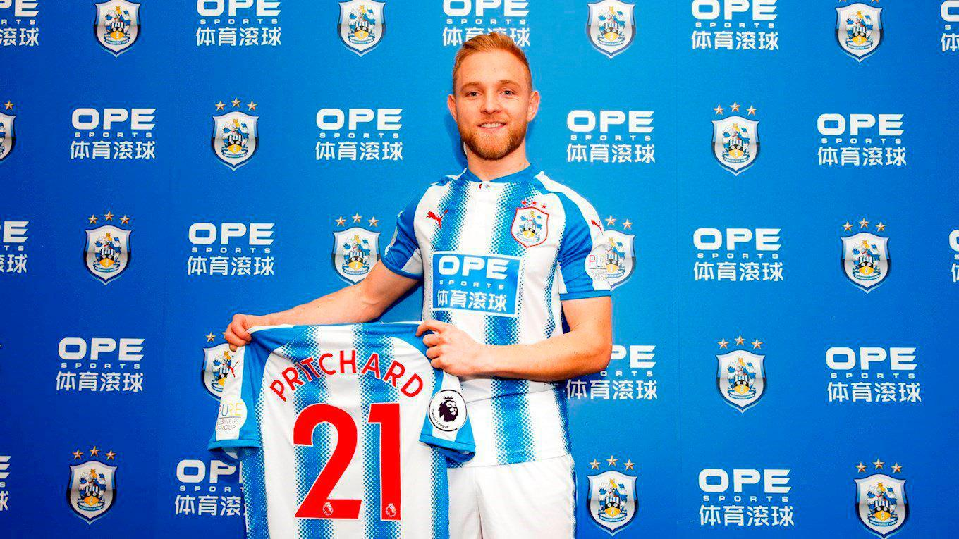 Huddersfield complete £11million Alex Pritchard signing from Norwich to boost survival hopes