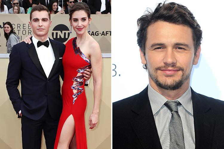 James Franco's sister-in-law Alison Brie addresses sexual misconduct allegations at SAG Awards 2018