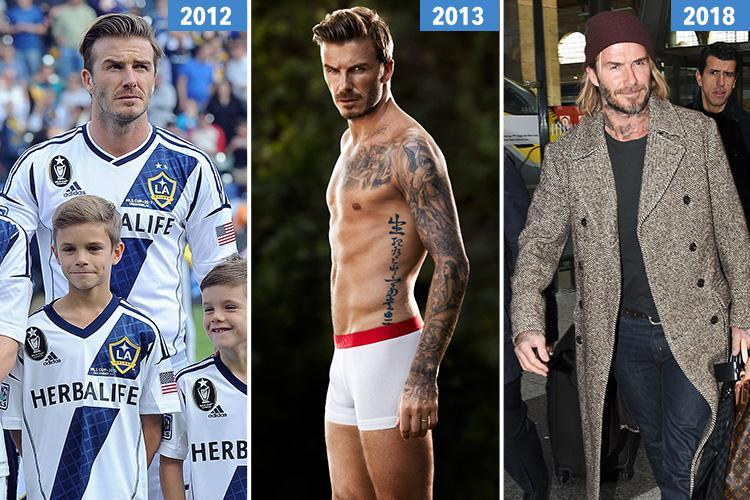 Ex-Goldenballs fan admits decades of lusting over David Beckham are over as he ditches hunky underwear ads for grunge fashion