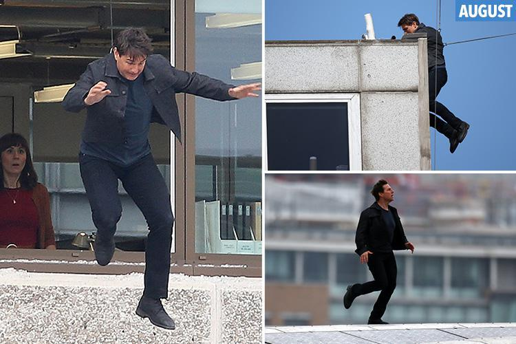 Tom Cruise returns to action on Mission: Impossible 6, five months after breaking ankle on set