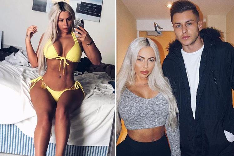 Geordie Shore's Holly Hagan shows off incredible curves in yellow bikini as rumoured flame Jacob Blyth defends her against 'photoshop' claims