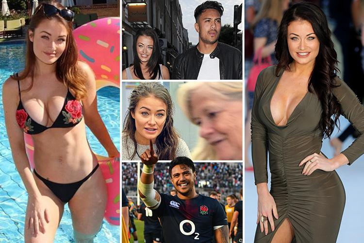 CBB's Jess Impiazzi wed England rugby bad boy Denny Solomona in secret Las Vegas ceremony… but now they'll divorce