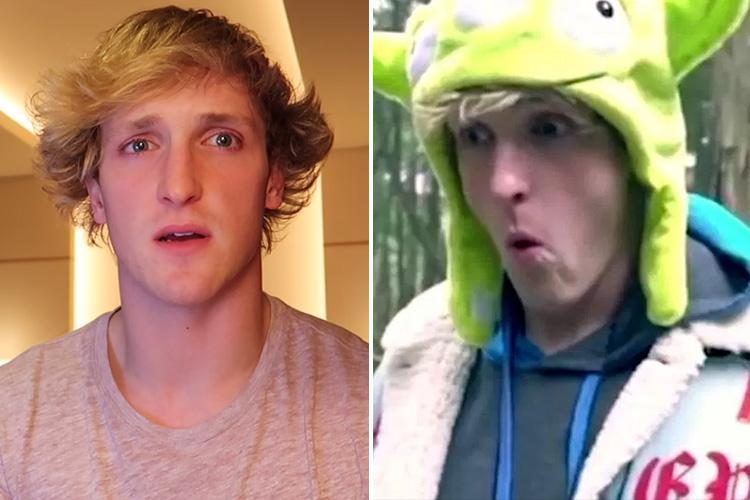 YouTube star Logan Paul wanted by cops over Japan 'suicide forest' video where he filmed a hanging body