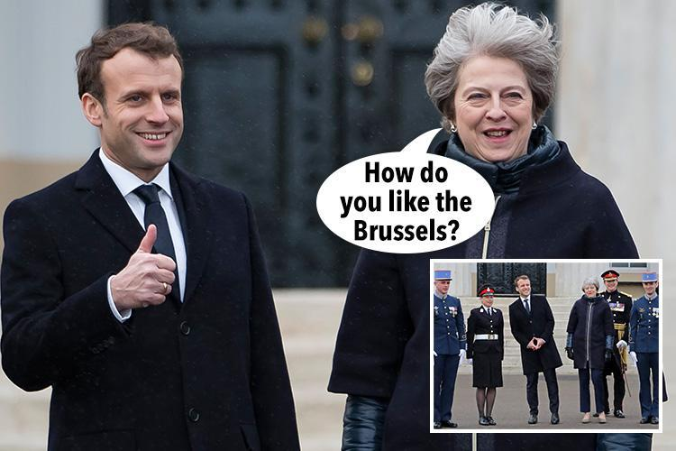 French President Emmanuel Macron warns Theresa May that Britain will have to pay if the City wants full EU single market access