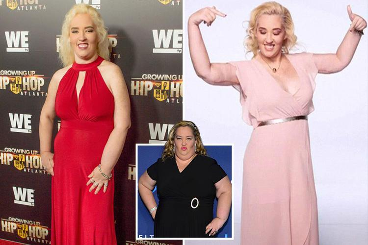 Honey Boo Boo's Mama June puts her 300lbs weight loss down to 'sleeping until 1pm so she doesn't eat breakfast'