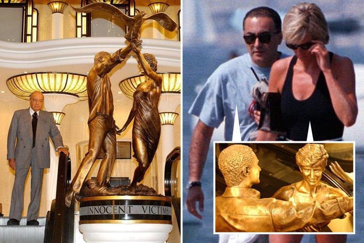 Blow for Mohammed Fayed as Harrods gets rid of tacky shrine to Diana and Dodi