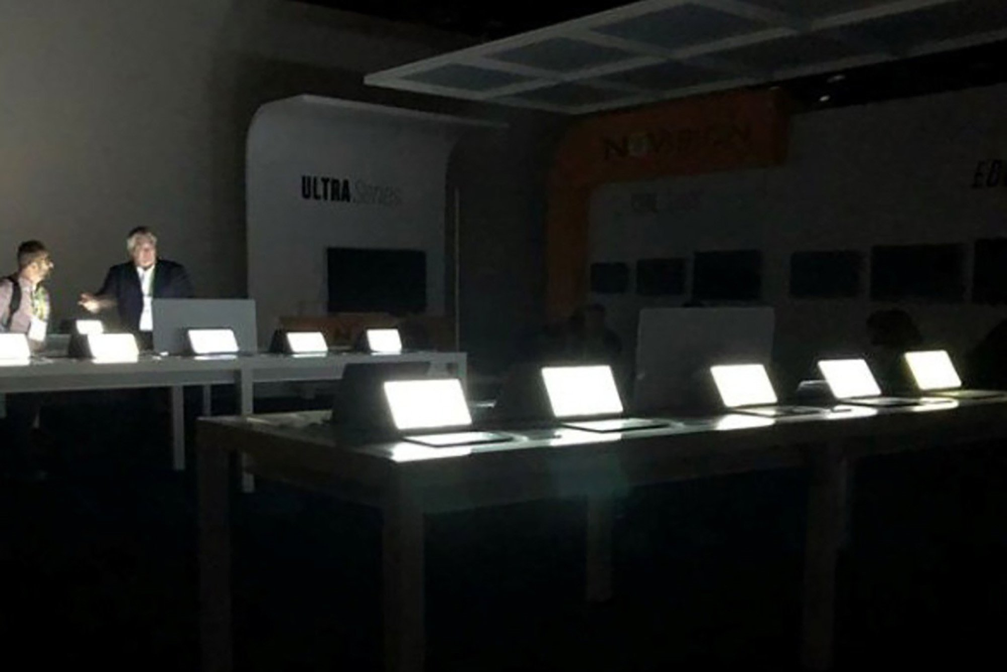 CES power outage can't stop tech hotshots from showing off