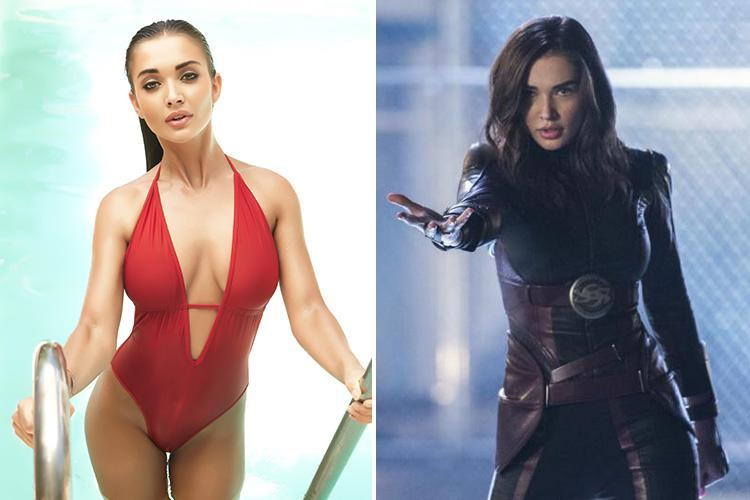 Brit actress Amy Jackson, 25, continues to flex her superpowers as Saturn Girl in US TV series Supergirl