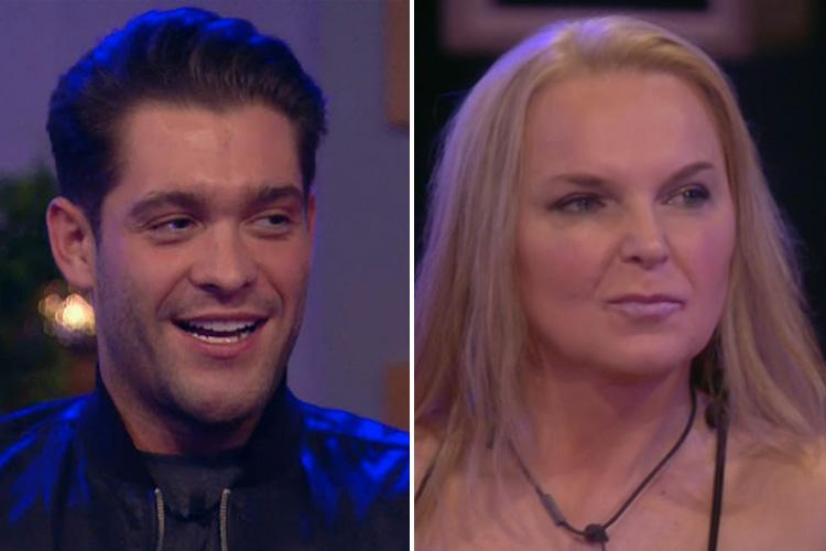 Celebrity Big Brother's Jonny Mitchell smugly admits the housemates are glad India Willoughby was evicted and not him