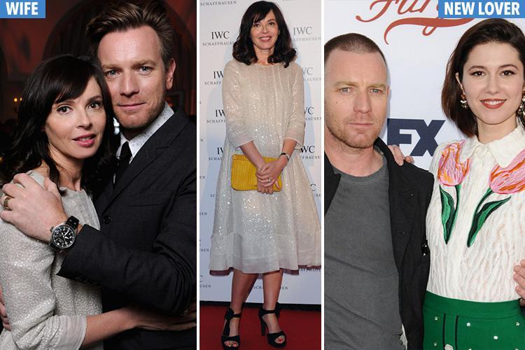 Ewan McGregor's scorned wife has blasted his filing for divorce as 'upsetting and disappointing'
