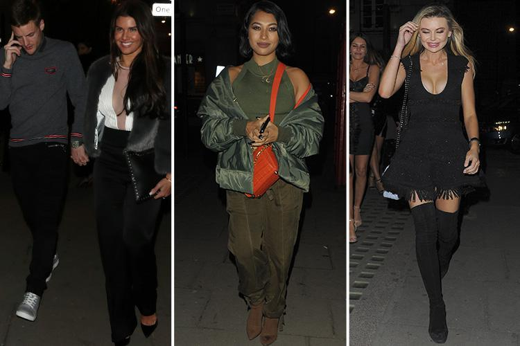 I'm A Celebrity campmates reunite for night out in London – but there's no sign of Amir Khan