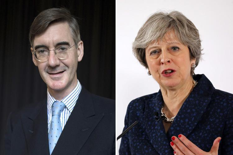Rees-Mogg says Brits can get cheaper food and clothes if May strikes strong Brexit dea;