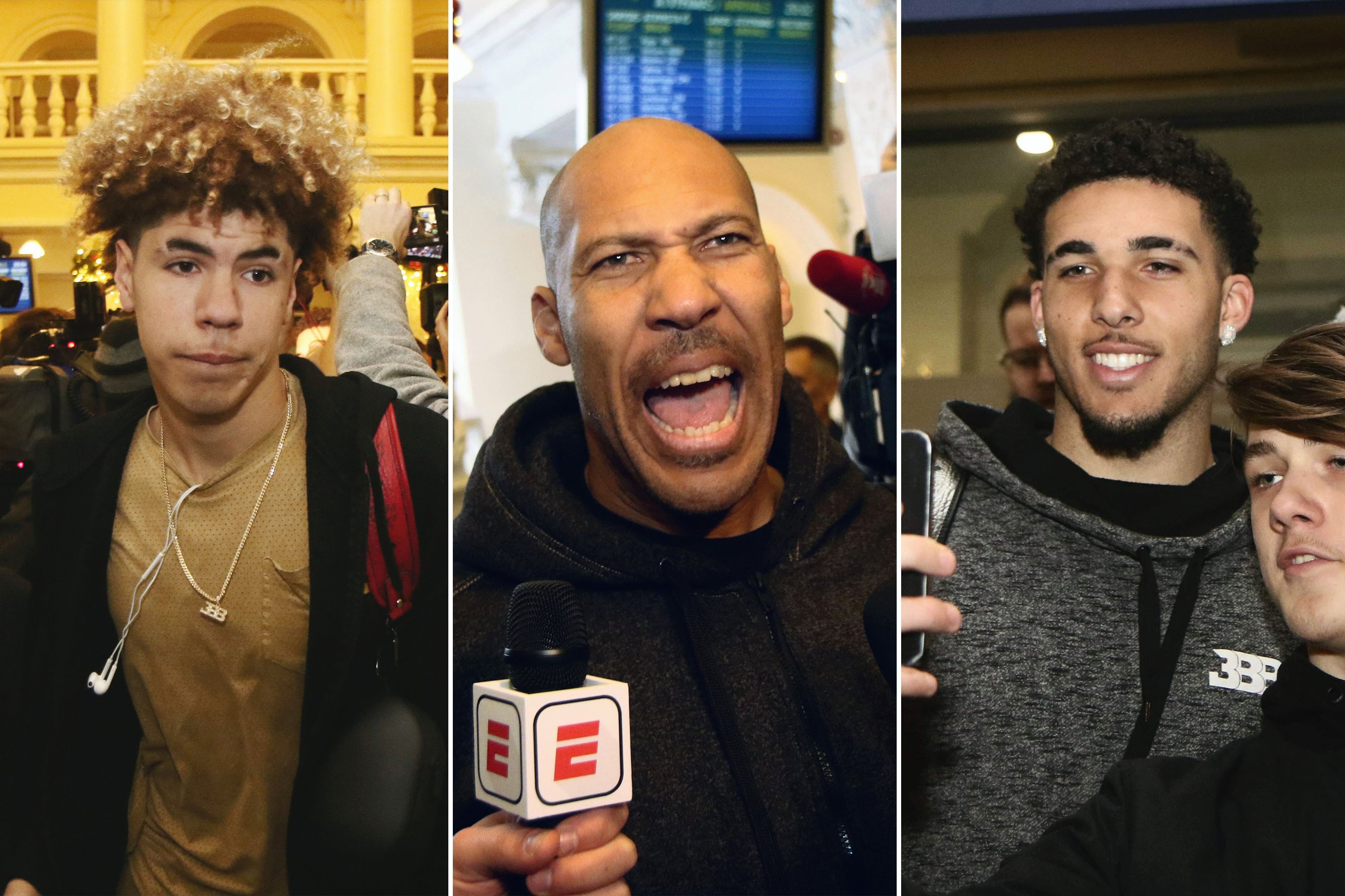 The LaVar Ball show arrives in Lithuania — to absolute mayhem
