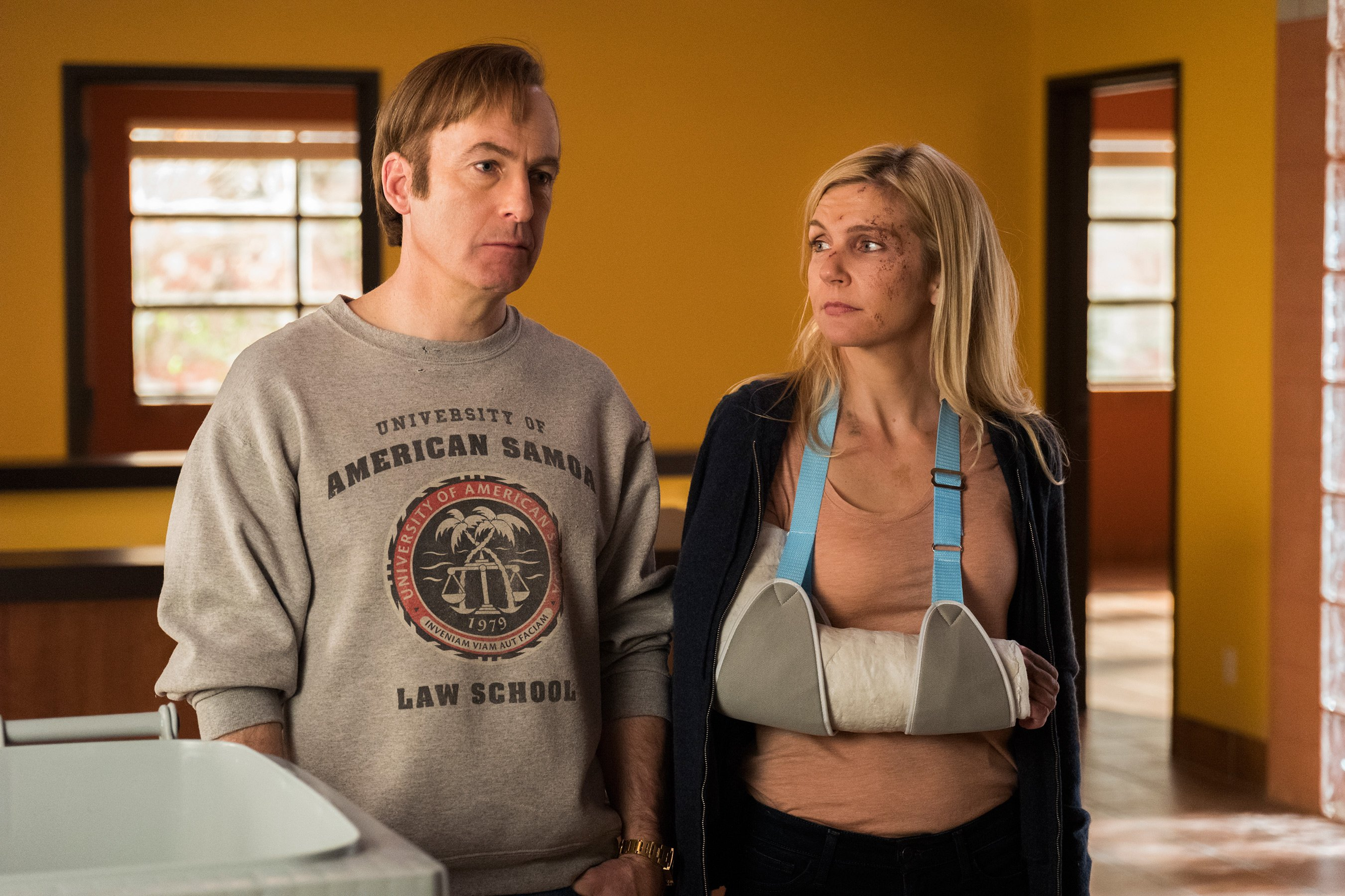 Better Call Saul season 3 gag reel: From Kim's coughs to Gus' gaffes