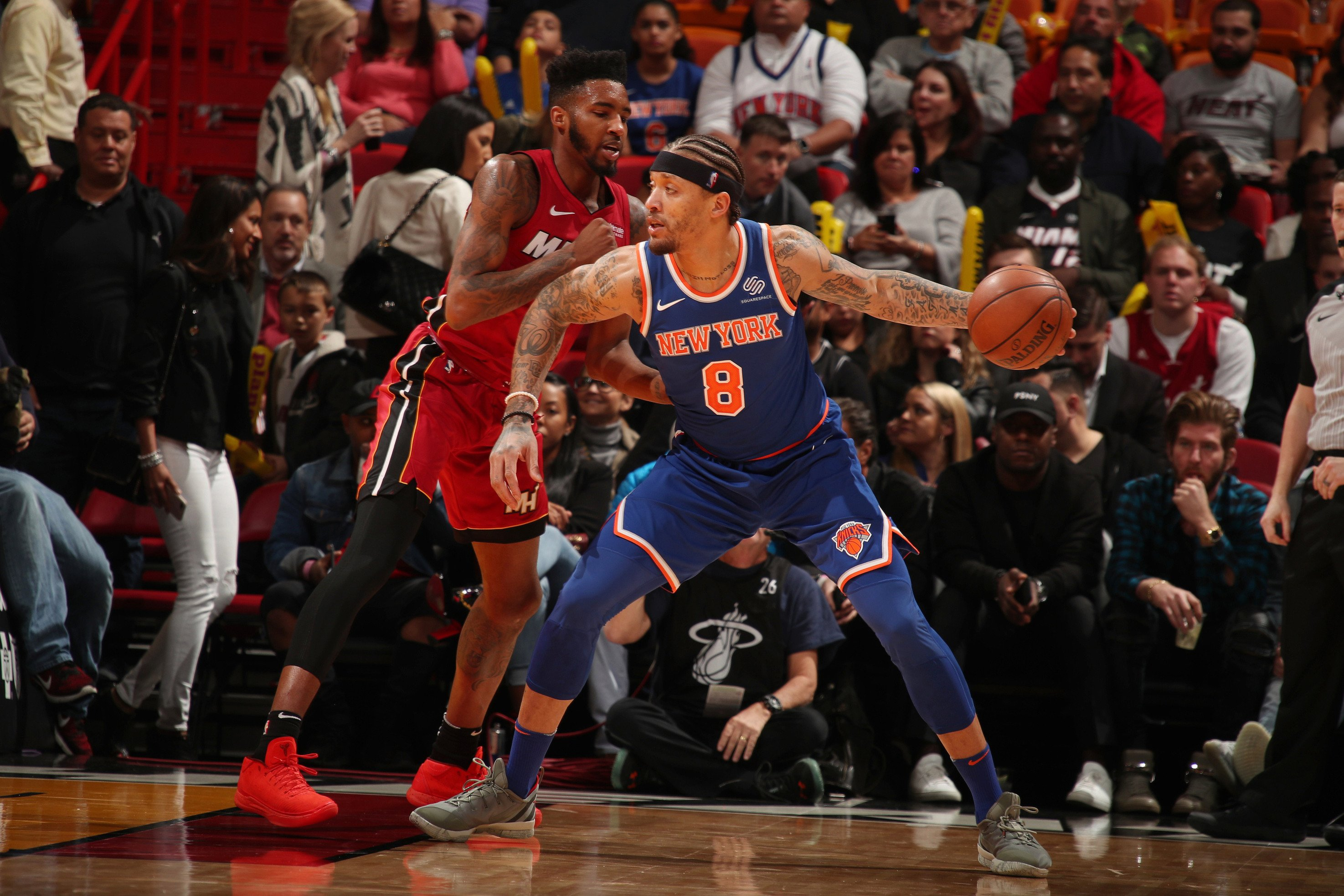The Knicks' offense has its Carmelo problem again